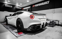 Back view of a 2014 PP Performance Ferrari F12berlinetta wallpaper 2560x1600 jpg