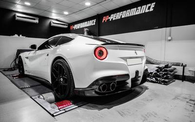 Back view of a 2014 PP Performance Ferrari F12berlinetta wallpaper