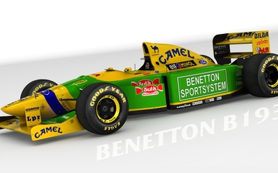 Benetton B193 wallpaper