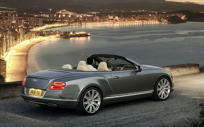 Bentley Continental GTC wallpaper