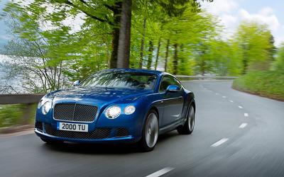 Bentley Continental GTC Speed wallpaper