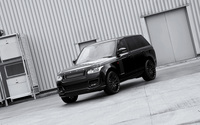 Black 2013 A Kahn Design Land Rover Range Rover front view wallpaper 2560x1600 jpg