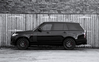 Black 2013 A Kahn Design Land Rover Range Rover side view wallpaper 2560x1600 jpg