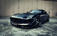 Black Kicherer 2009 Mercedes-Benz SLS AMG wallpaper 1920x1200 jpg