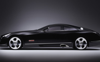 Black Maybach Exelero V12 Biturbo side view wallpaper 1920x1080 jpg