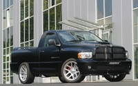 Black Staretech Dodge Ram SRT-10 wallpaper 2560x1600 jpg