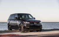 Black STRUT Land Rover Range Rover wallpaper 2560x1600 jpg