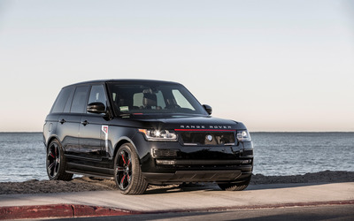 Black STRUT Land Rover Range Rover wallpaper