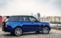 Blue 2013 A Kahn Design Land Rover Range Rover 600LE wallpaper 1920x1200 jpg