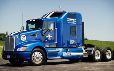 Blue truck wallpaper