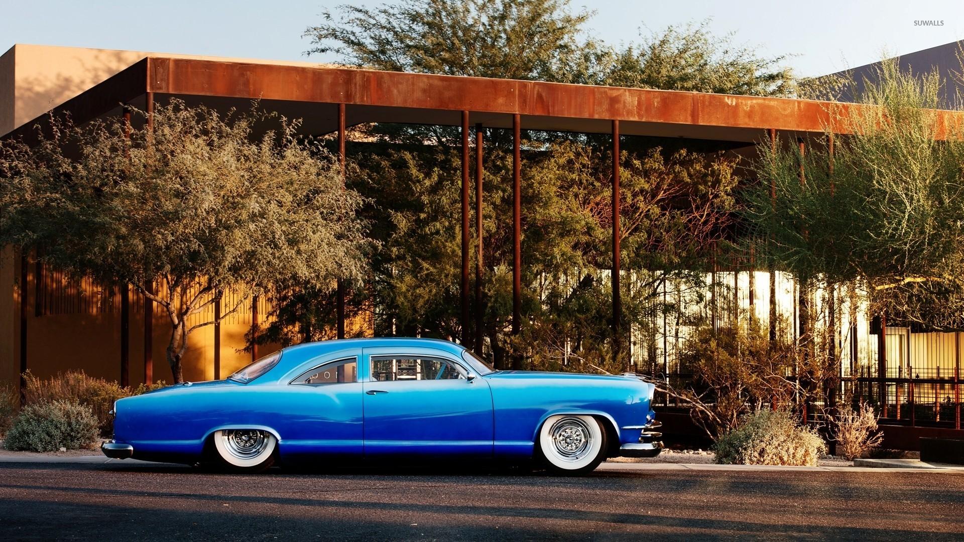 Blue Vintage Car Wallpaper Car Wallpapers 44906