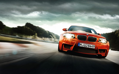 BMW 1 Series M Coupe wallpaper