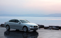 BMW 538Li wallpaper 1920x1200 jpg