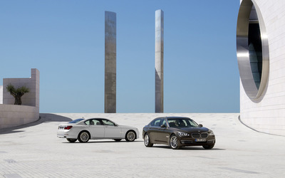 BMW 7 Series 750d & 750Li wallpaper