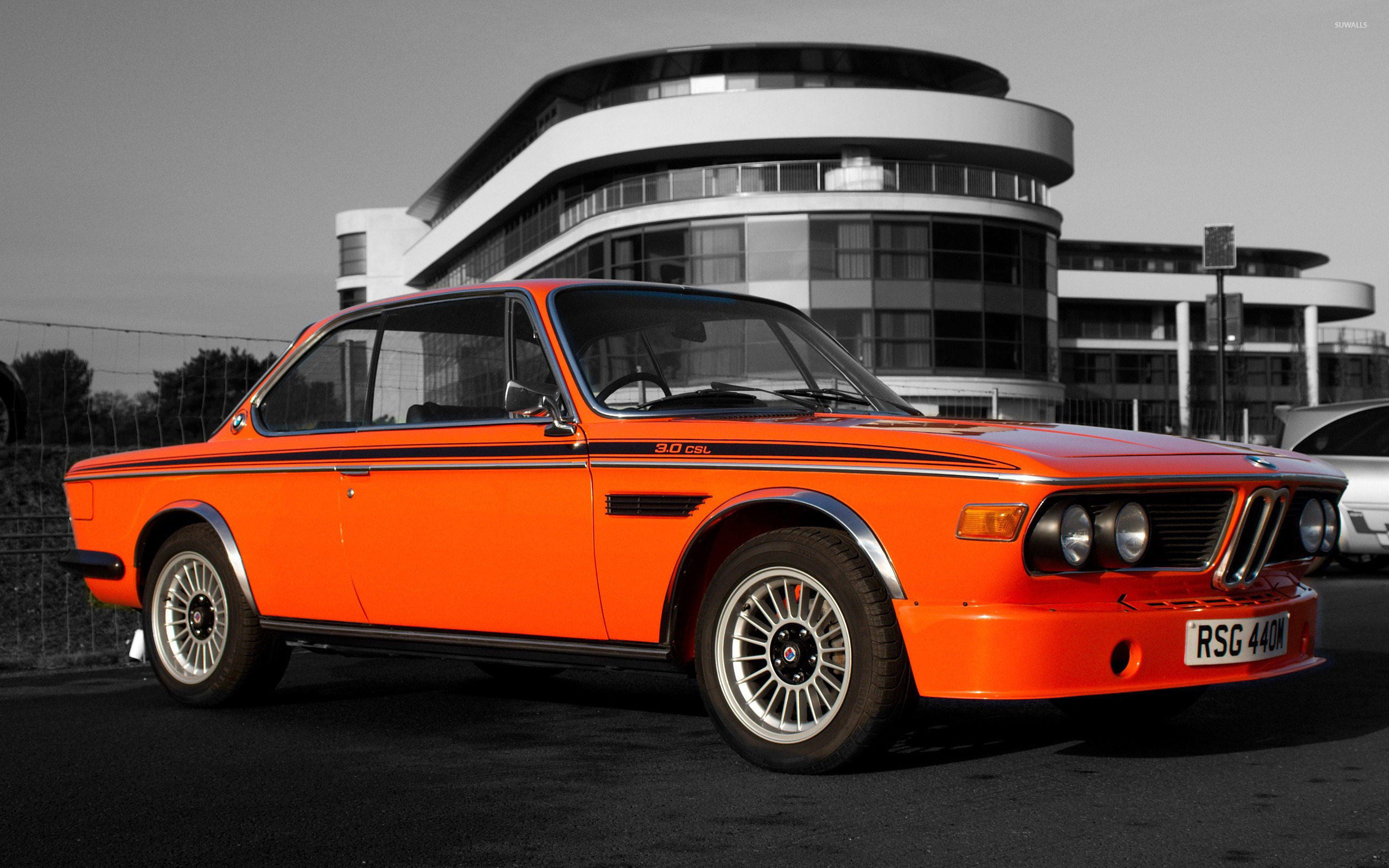 BMW E9 Wallpaper