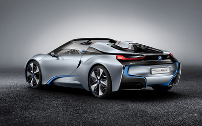 BMW I8  Concept Spyder [3] wallpaper
