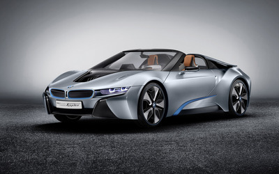 BMW I8  Concept Spyder [2] wallpaper