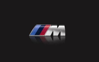 BMW M series logo wallpaper