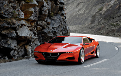BMW M1 Hommage on the road wallpaper