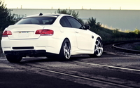 BMW M3 back view wallpaper 1920x1080 jpg