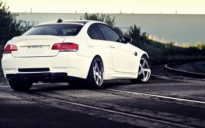 BMW M3 back view Wallpaper