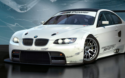 BMW M3 GT2 ALMS Wallpaper