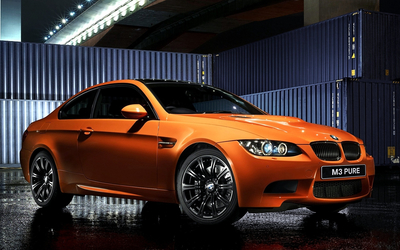 BMW M3 pure edition wallpaper
