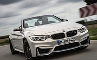 BMW M4 convertible front view wallpaper 2560x1440 jpg