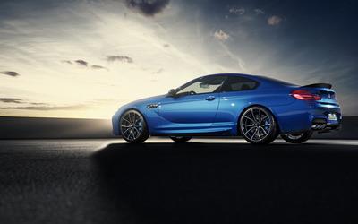 BMW M6 side view wallpaper