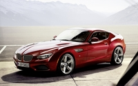 BMW Zagato Coupe wallpaper 1920x1200 jpg
