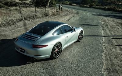 Boden Porsche 911 Carrera S back top view wallpaper