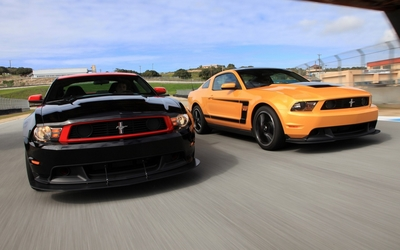Boss 302 Mustang [2] wallpaper