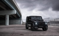 Brabus Mercedes-Benz G-Class under a bridge wallpaper 3840x2160 jpg