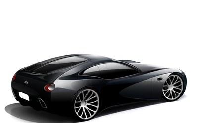 Bugatti Type 12-2 Streamliner wallpaper