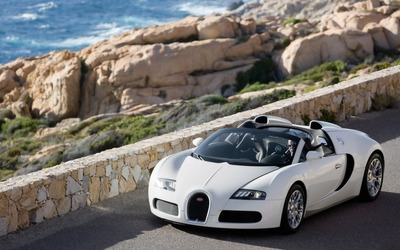 Bugatti Veyron Cabrio wallpaper