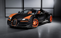 Bugatti Veyron front side view wallpaper 2560x1600 jpg