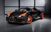 Bugatti Veyron front side view wallpaper 2560x1600 jpg