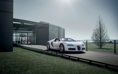 Bugatti Veyron Grand Sport Wei Long wallpaper