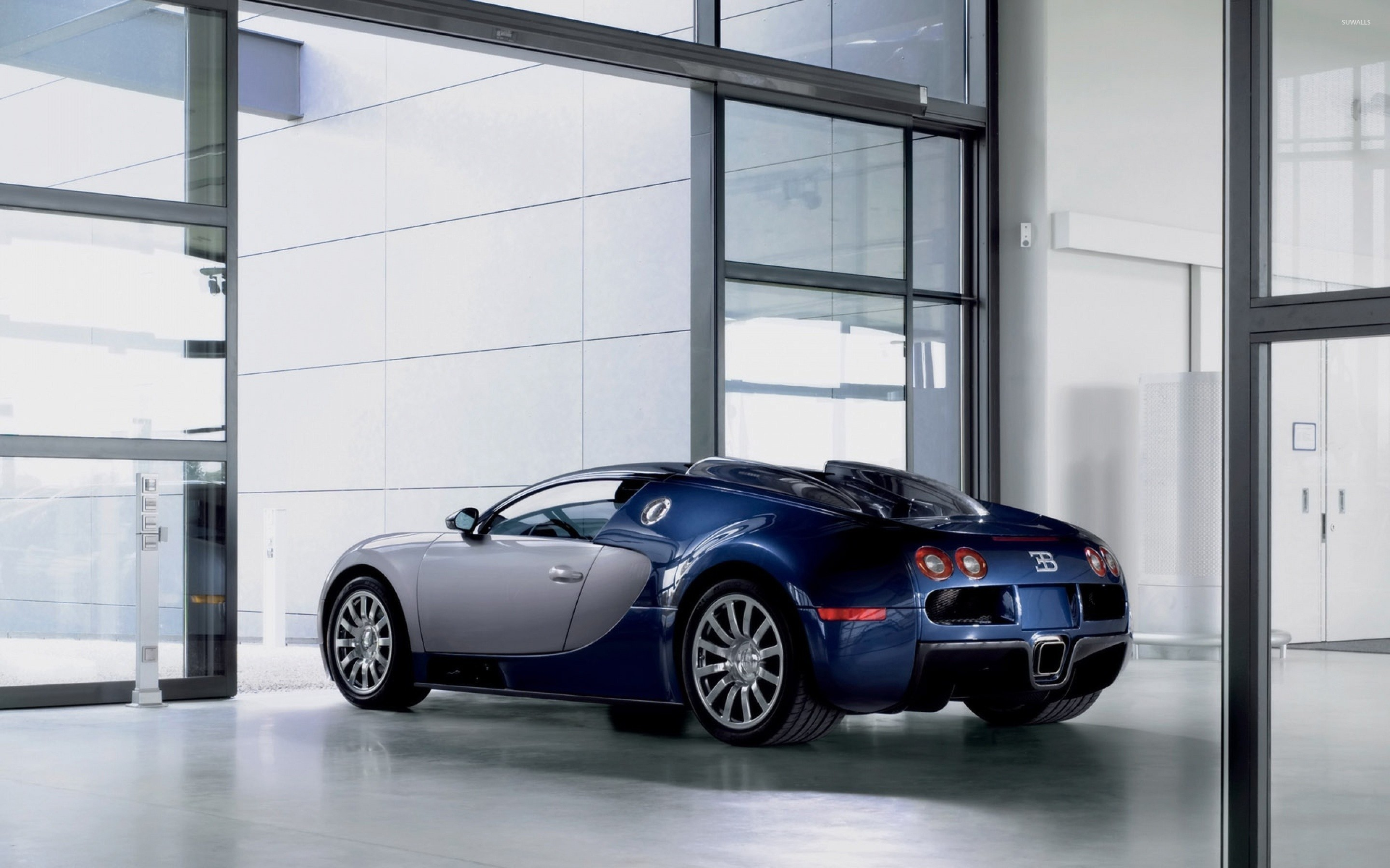 Bugatti Veyron In A Showroom Wallpaper Car Wallpapers 50105