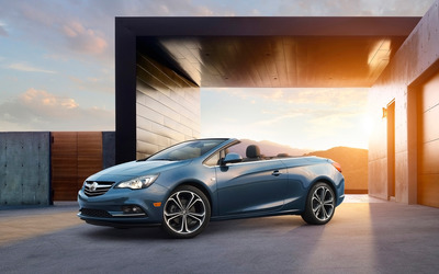 Buick Cascada at sunset wallpaper