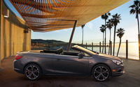 Buick Cascada convertible side view wallpaper 2560x1600 jpg