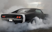 Burnout Dodge Charger R/T wallpaper 2560x1440 jpg