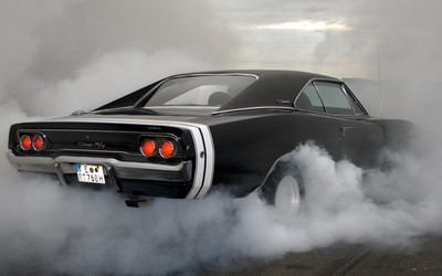Burnout Dodge Charger R/T wallpaper