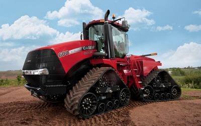 CaseIH Steiger 600 Quadtrac tractor wallpaper