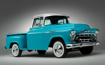 Chevrolet 3100 side view wallpaper