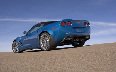 Chevrolet Corvette C6 ZR1 [4] wallpaper