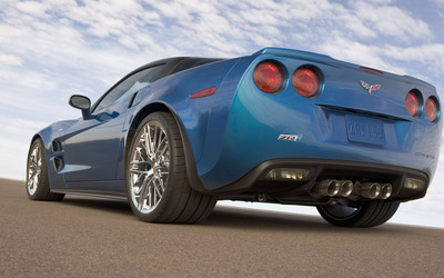 Chevrolet Corvette C6 ZR1 [5] wallpaper