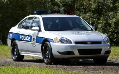 Chevrolet Impala police car wallpaper
