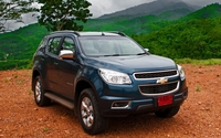 Chevrolet Trailblazer wallpaper 1920x1200 jpg