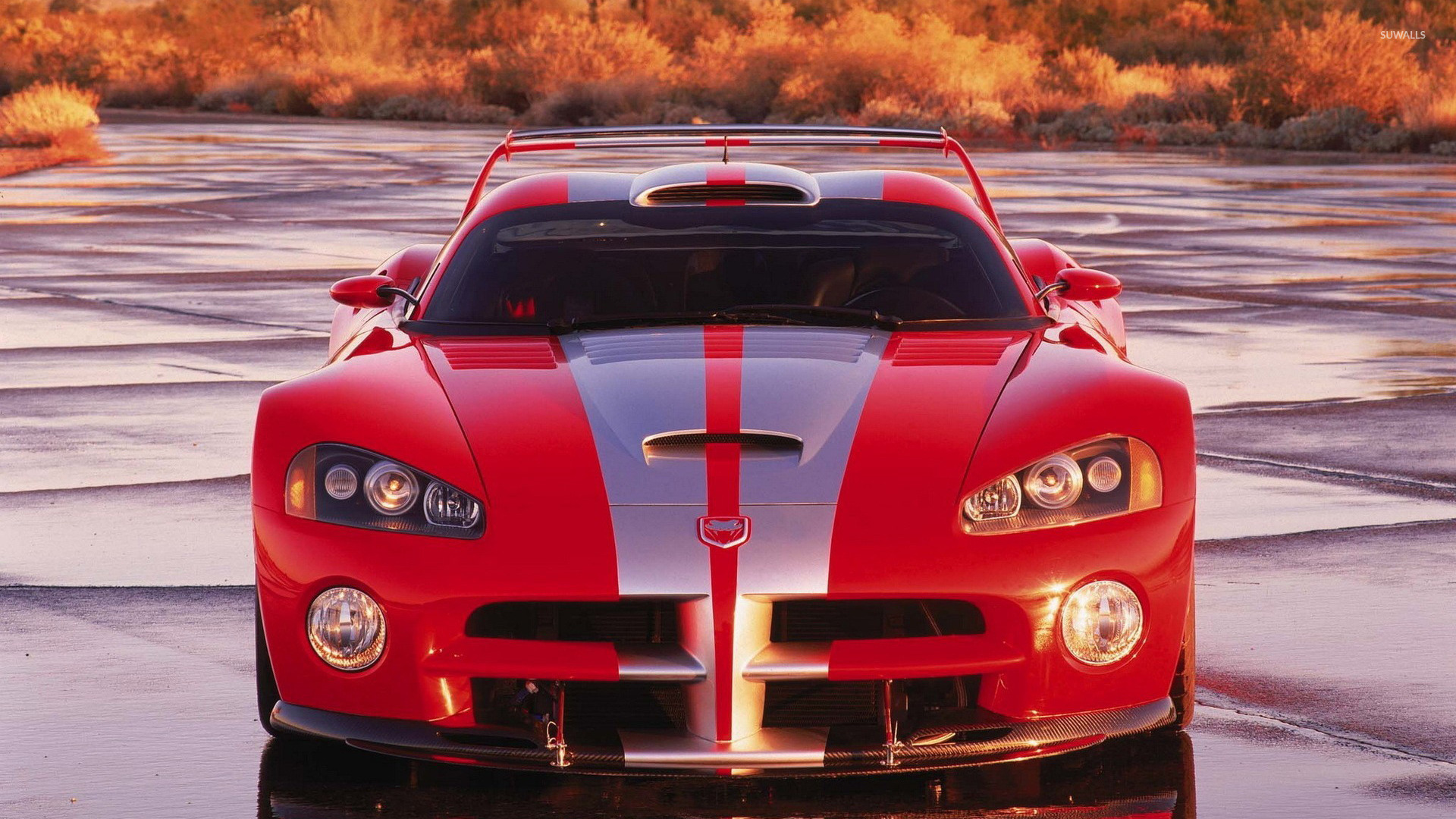 chrysler viper gts r front view wallpaper car wallpapers. Black Bedroom Furniture Sets. Home Design Ideas